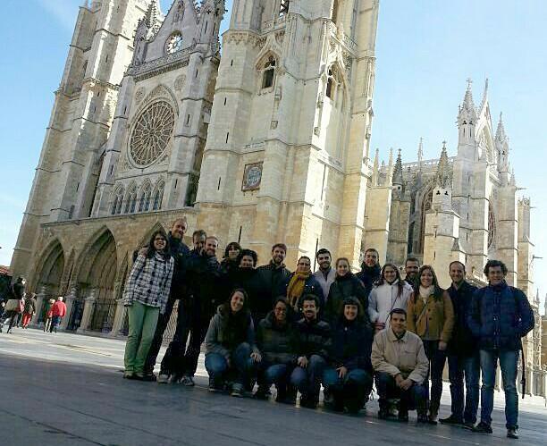Jóvenes en León